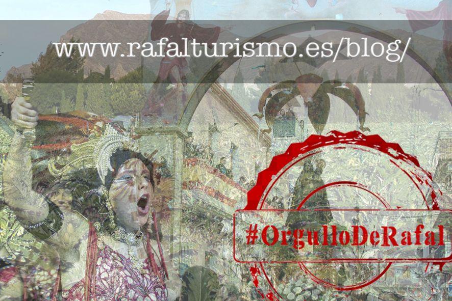 Montaje con imagenes de Rafal y el hastag #OrgulloDeRafal